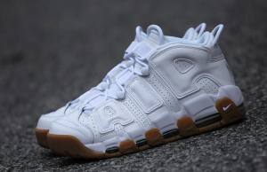 Nike More Uptempo White Gum