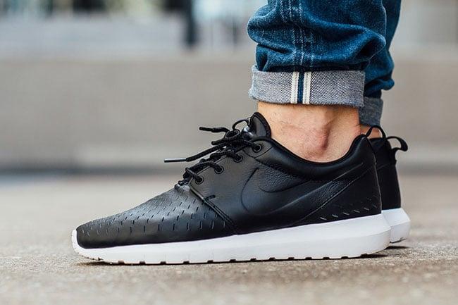 low priced 01798 0f4d7 Nike Roshe NM Laser Black White