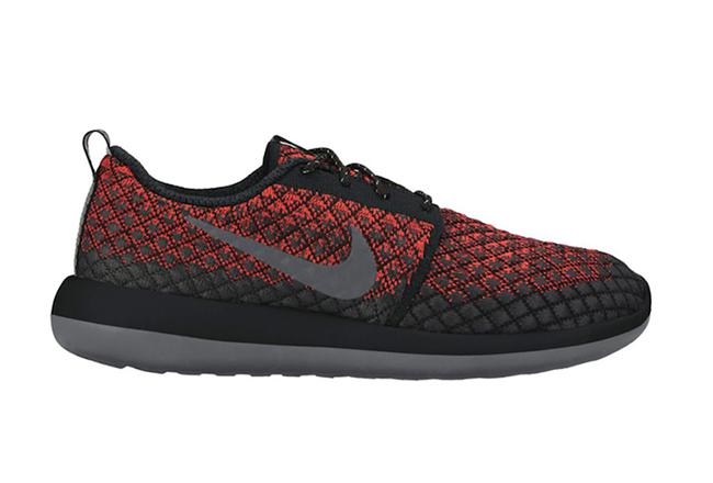 Nike Roshe Two Flyknit 365 Bright Crimson Black