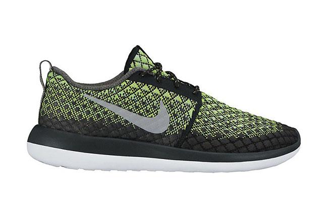 Nike Roshe Two Flyknit 365 Volt Black