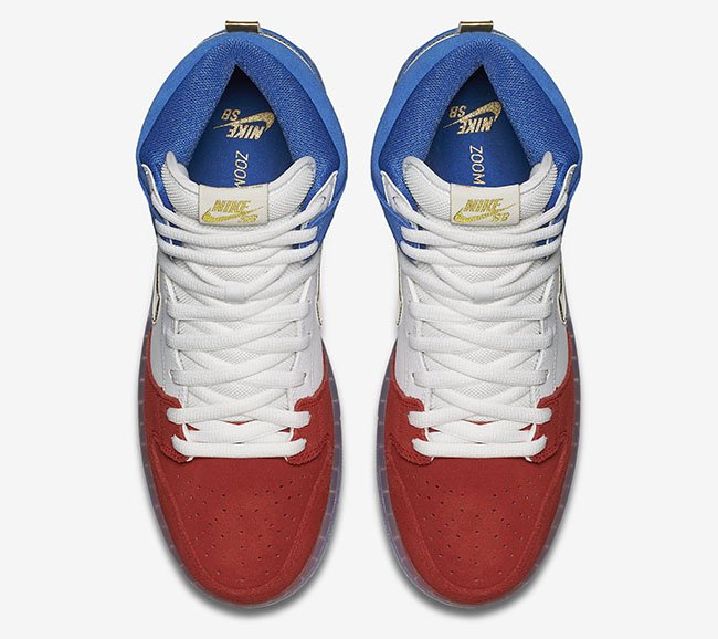 Nike SB Dunk High France Flag