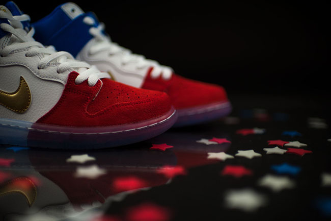 Nike SB Dunk High Tricolor France Flag