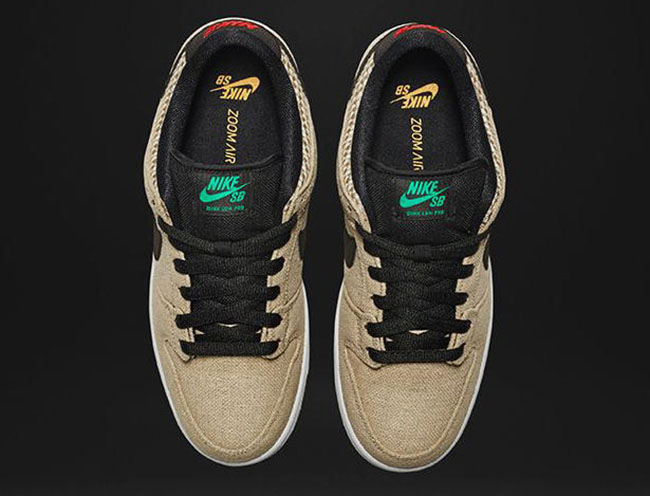 Nike SB Dunk Low 420 Hemp 2016