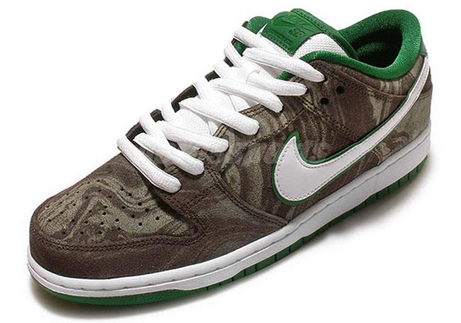 Nike SB Dunk Low Khaki Pine Green