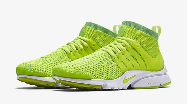 Nike WMNS Air Presto Ultra Flyknit Voltage Green