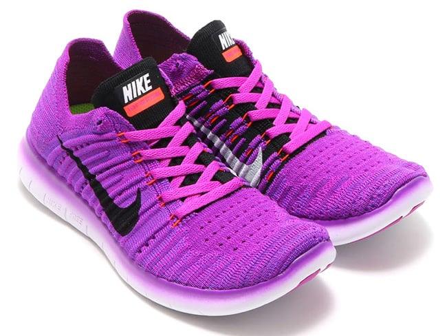 Nike Free Rn Flyknit Hyer Violet