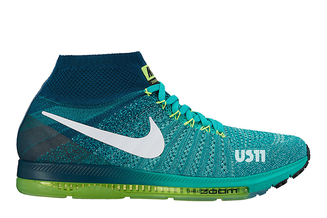 Nike Zoom All Out Flyknit Green Volt