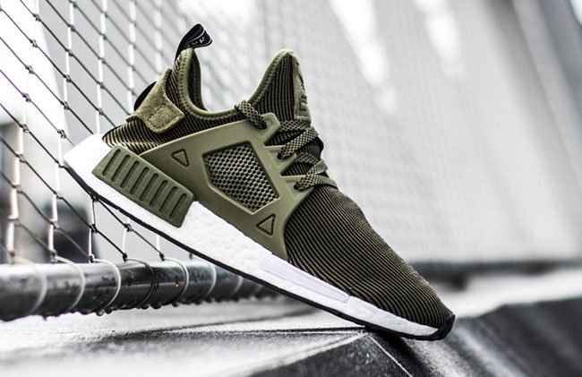 Beige Black NMD XR1 Primeknit Shoes adidas US