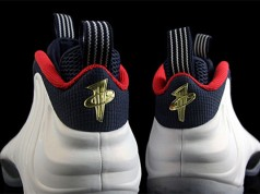 Olympic Nike Foamposite One Gold Medal
