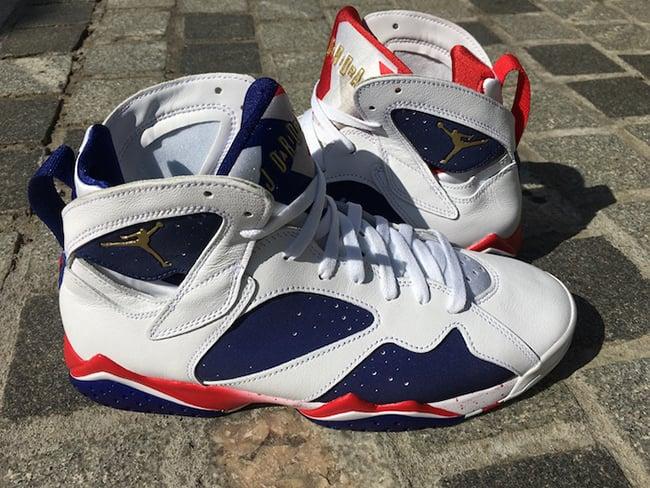 Olympic Tinker Air Jordan 7 2016