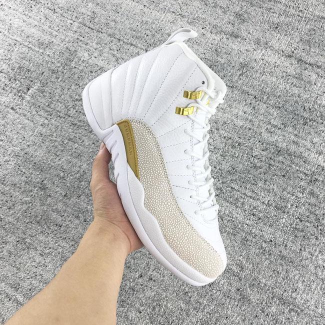 OVO Air Jordan 12 White Release Date