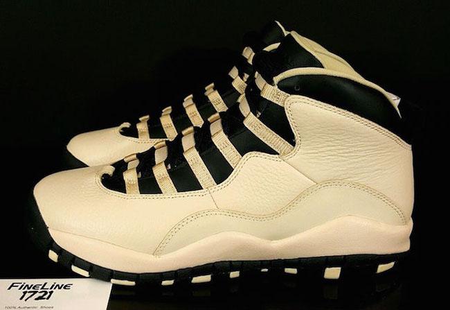 Pearl White Air Jordan 10 GS