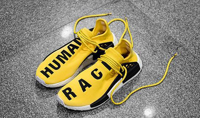 New Adidas Pharrell PW Human Race NMD yellow size 8.5 yeezy