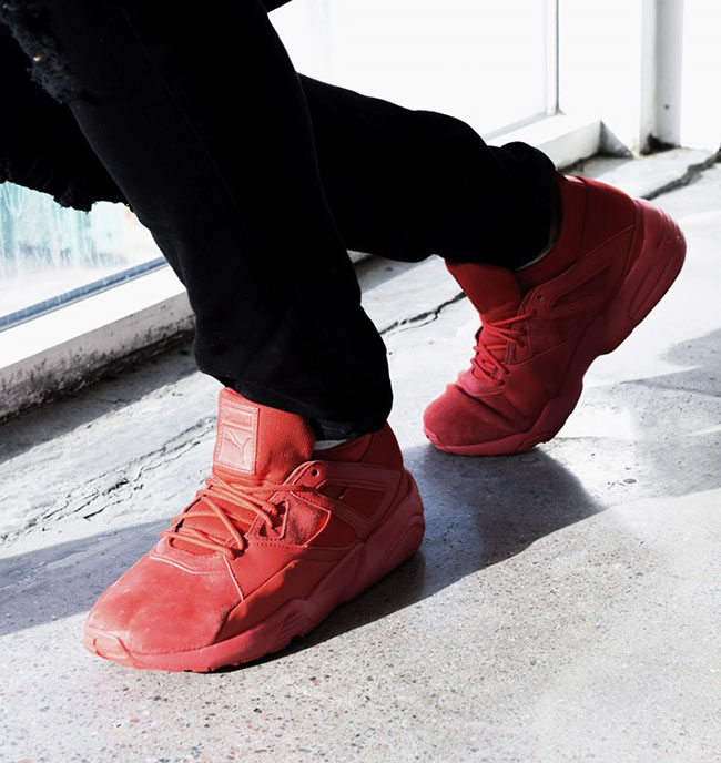 Puma Blaze of Glory Sock Core Red