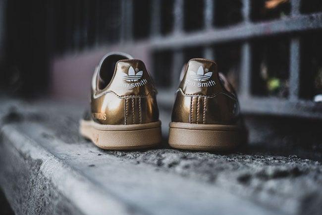 Raf Simons adidas Stan Smith Metallic Copper
