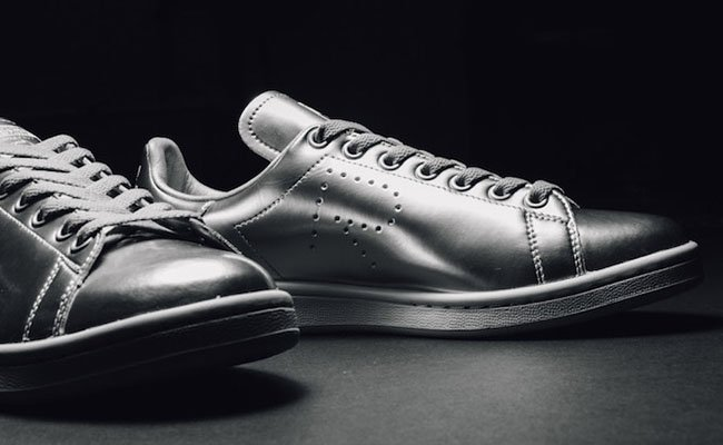 Raf Simons adidas Stan Smith Silver