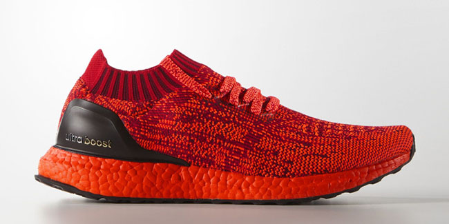 Red adidas Ultra Boost Uncaged