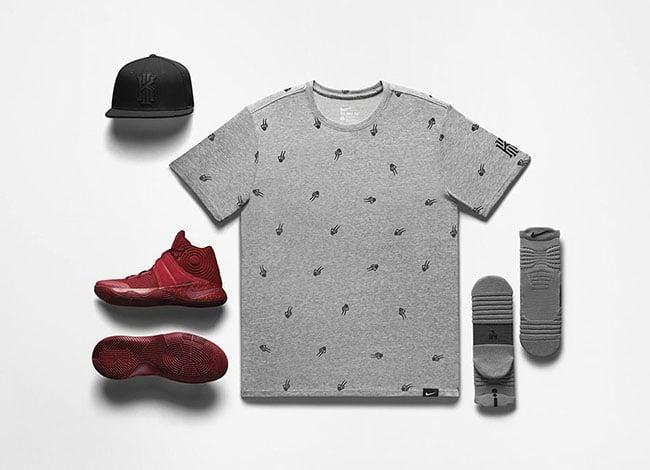 Red Velvet Nike Kyrie 2