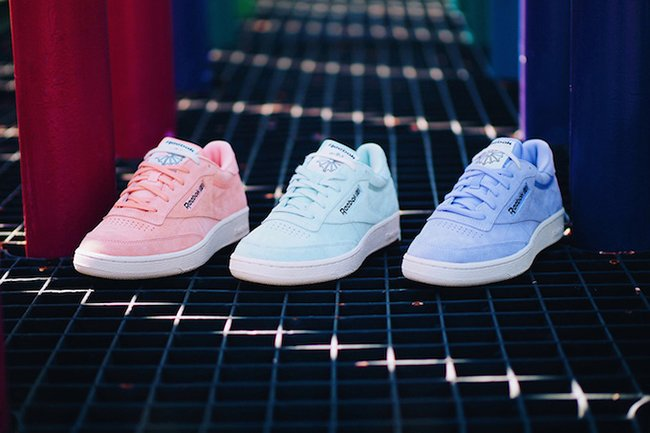 Reebok Club C Pastel Pack