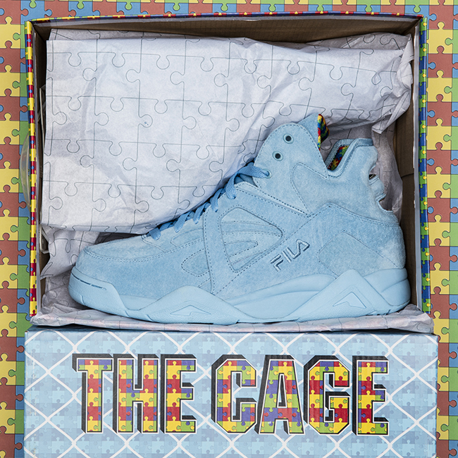 Shoe City Fila Cage Puzzle Piece