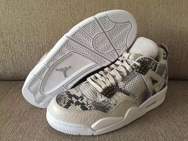 Snakeskin Air Jordan 4 Premium Retro