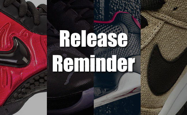 Sneakers Release April 15 16 2016