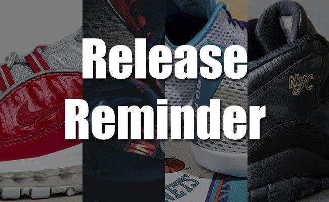 Sneakers Release April 29 May 1 2016