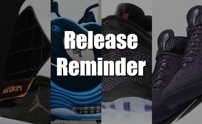 Sneakers Release April 8 9 2016