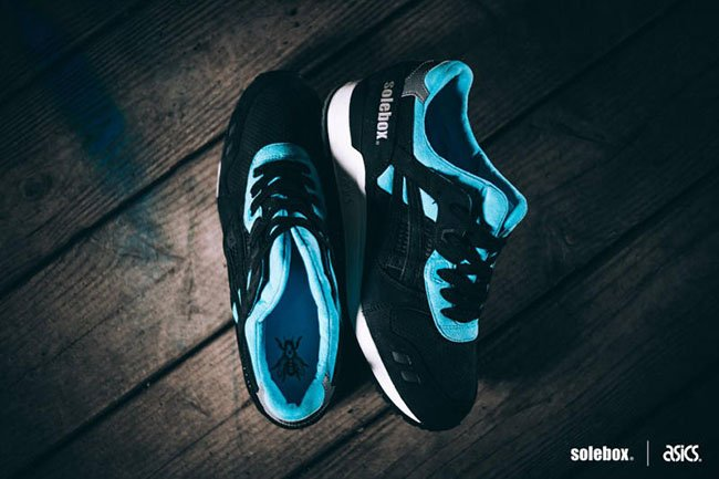 Solebox Asics Gel Lyte III Blue Carpenter Bee