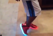 Stephon Marbury Starbury Light Up Sneakers