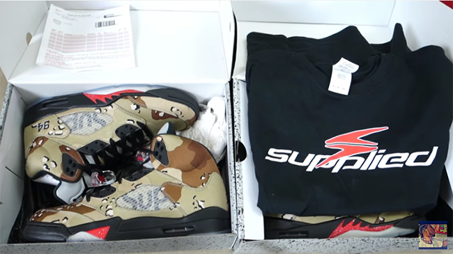 Supplied PDX Fake Sneakers