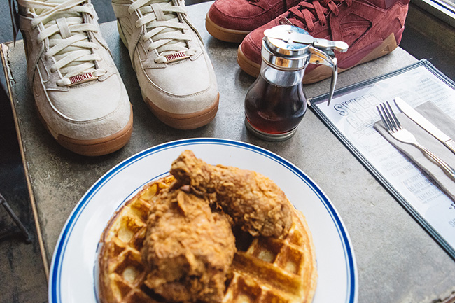 Sweet Chick Fila Cage Chicken Waffles