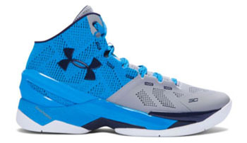 Under Armour Curry 2 Electric Blue