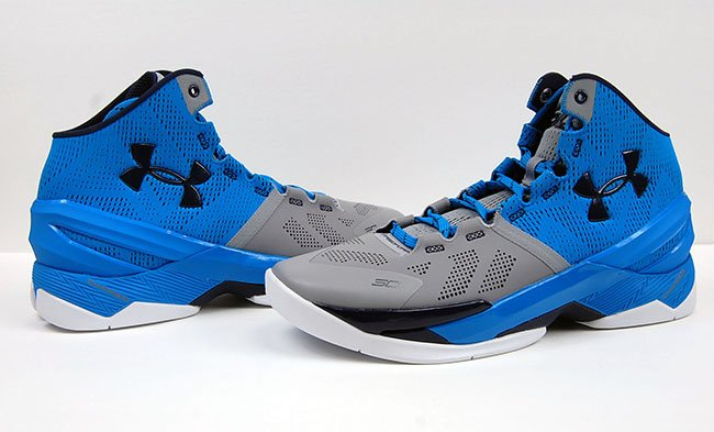 Under Armour Curry 2 Electric Blue Steel Navy Review