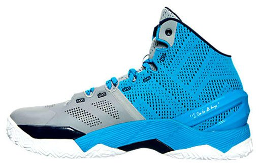 Under Armour Curry 2 Steel Electric Blue Navy