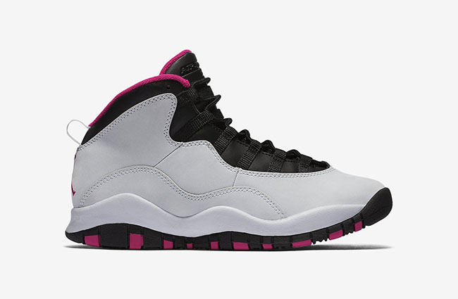 Vivid Pink Air Jordan 10 GS May 2016