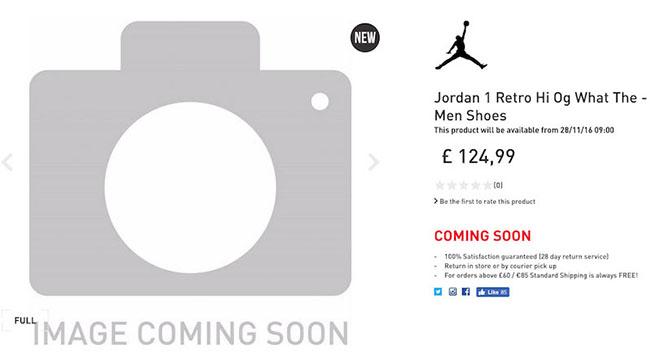 What The Air Jordan 1 OG Release Date