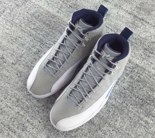 Wolf Grey Blue Air Jordan 12 2016