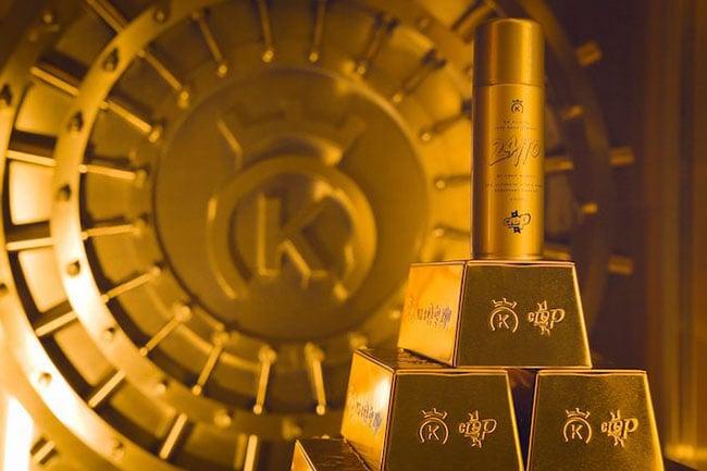 24 Kilates Crep Protect Gold Bar