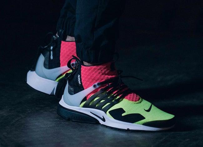 ACRONYM NikeLab Air Presto Mid Neon Volt