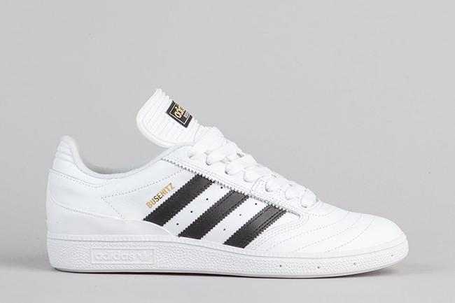 adidas Busenitz White Black