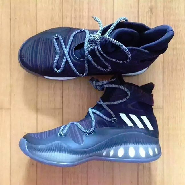 huge discount 30f3a 3b949 adidas Crazy Explosive Black White