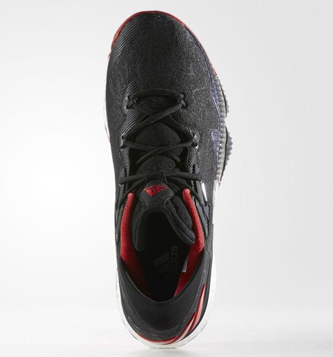 adidas Crazylight Boost 2016 Black Red