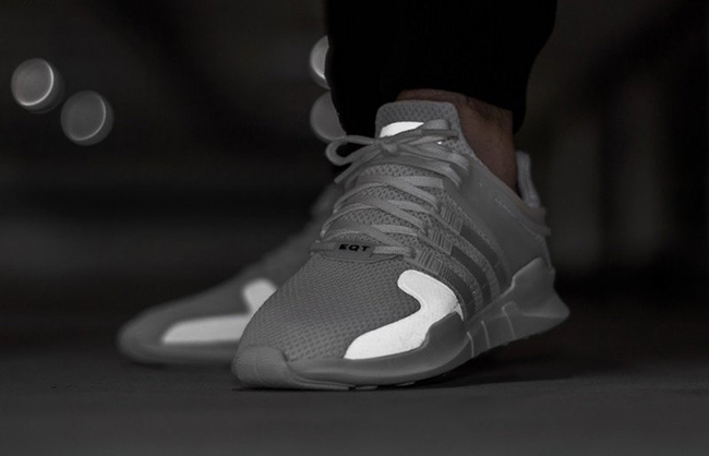 hot sale online d6463 23e83 adidas EQT Support ADV White | SneakerFiles