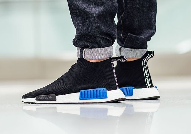 adidas NMD City Sock Black Blue