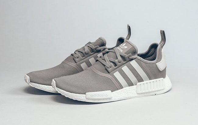 Adidas Nmd Grey And Maroon