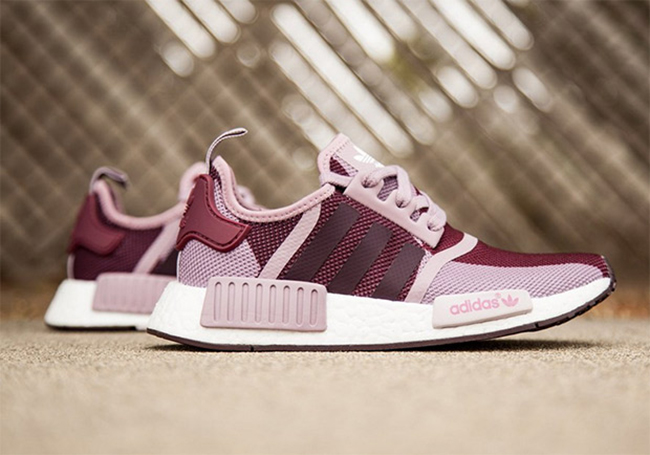 adidas NMD Purple Blanch Night Red
