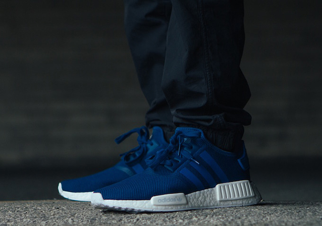 huge discount 775d9 a875e adidas NMD R1 Blue White | SneakerFiles