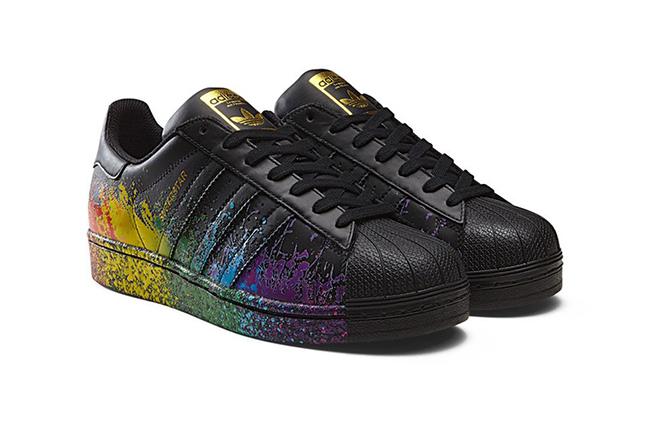 ec3424e7a2a0 adidas Originals Pride Pack 2016 Superstar 80s