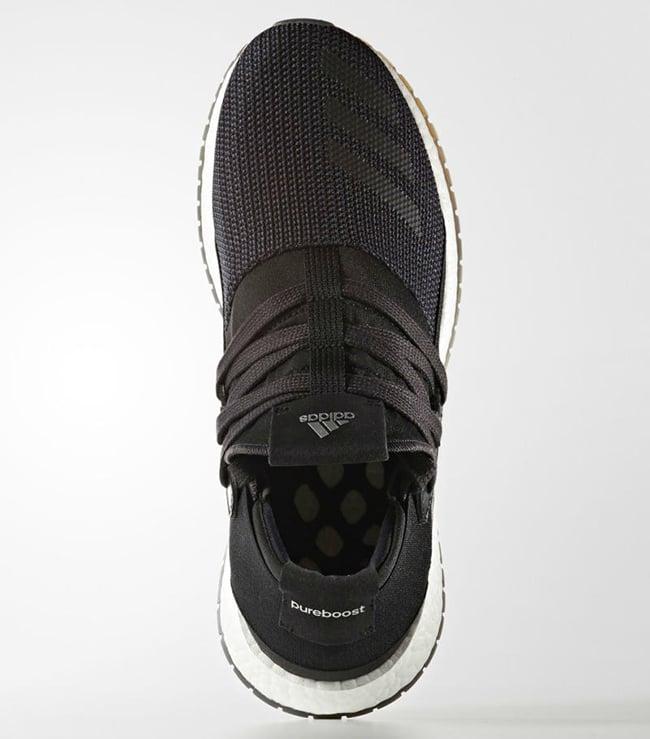 Adidas Damen Pure Boost 2 Flash PinkWhiteGraphic Running